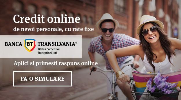 credit online Banca Transilvania